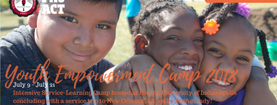 Youth Empowerment Camp: Serve & Learn 2018