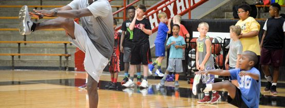 Men's Basketball–Father-Son Clinic